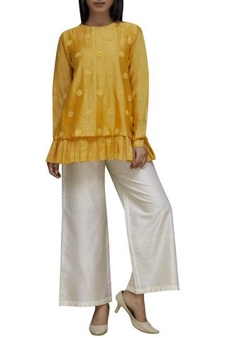 Handwoven Flared Pants