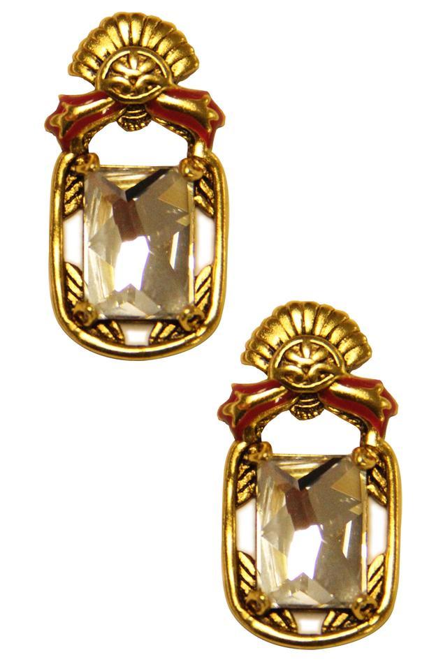 Nida Mahmood Crystal Earrings
