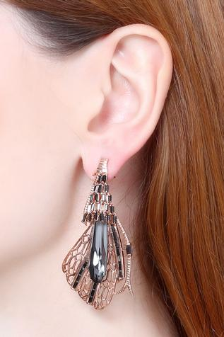 Handcrafted Crystal Earrings