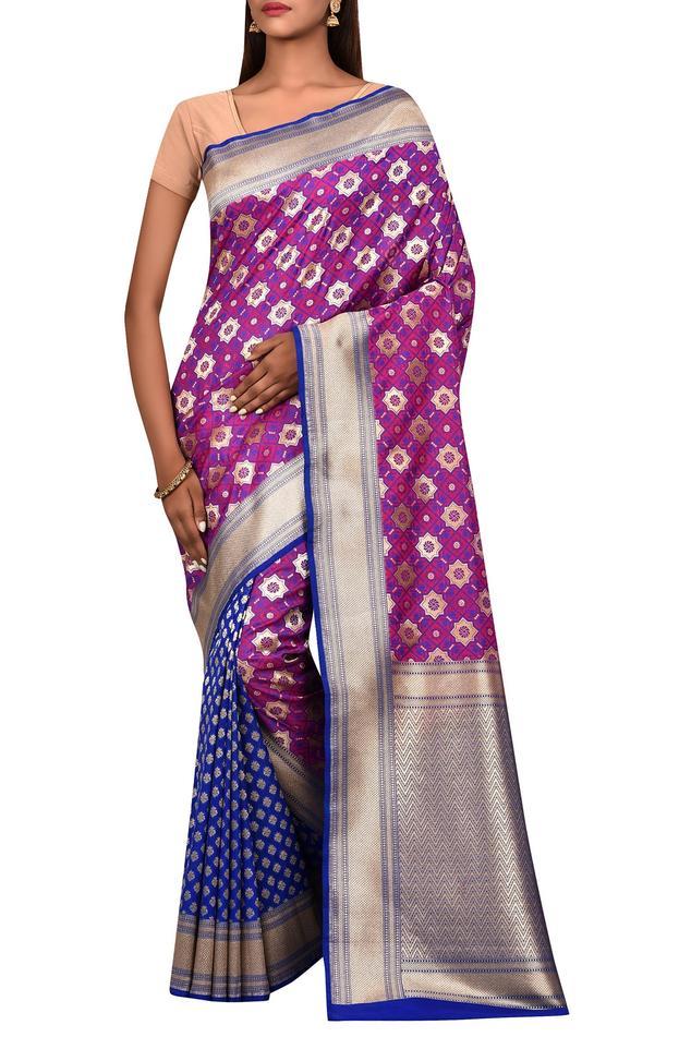 Silk Saree with Running Blouse Fabric