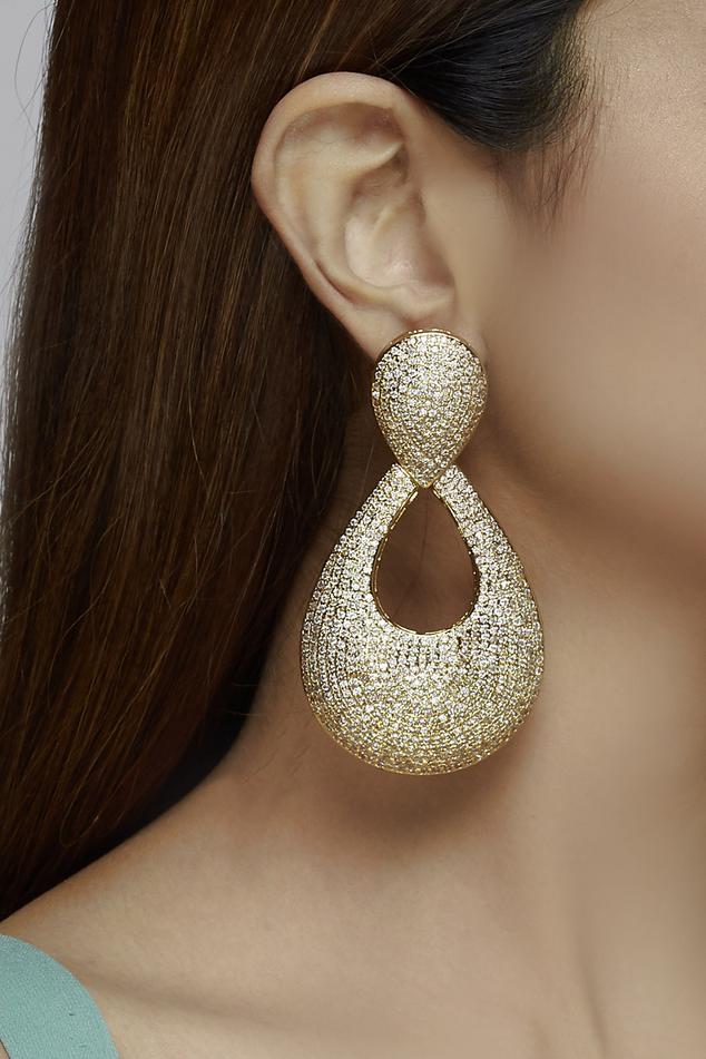 Stone Statement Earrings