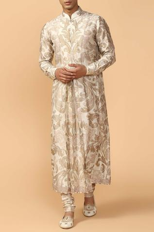 Cotton Chanderi Kurta Set
