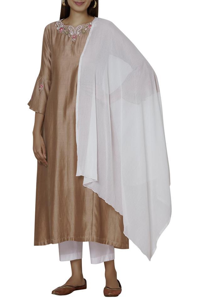 Chanderi Kurta Set