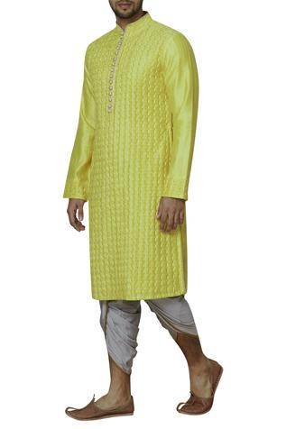 Chanderi Long Kurta