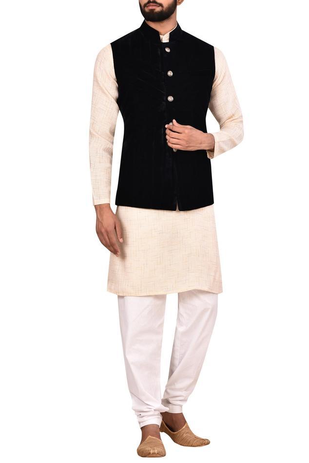 Velvet Nehru Jacket