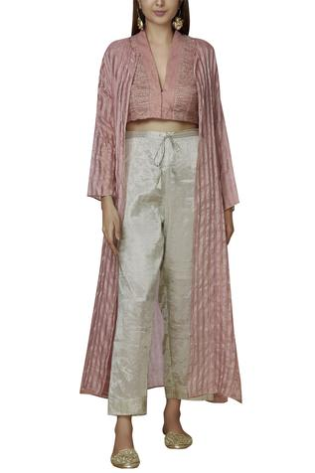 Chanderi Silk Pants