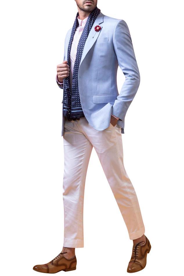 Notch Lapel Blazer Jacket