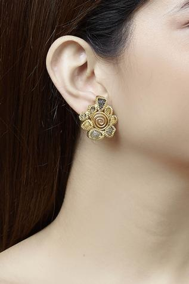 Carved Earrings