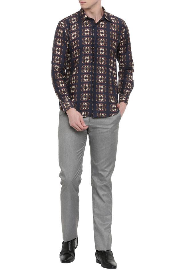 Linen Printed Shirt