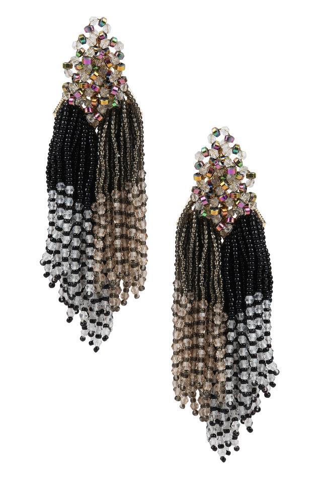 Bead Tassel Earrings