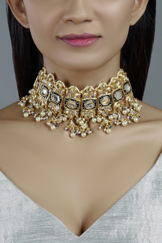 Meenakari Choker
