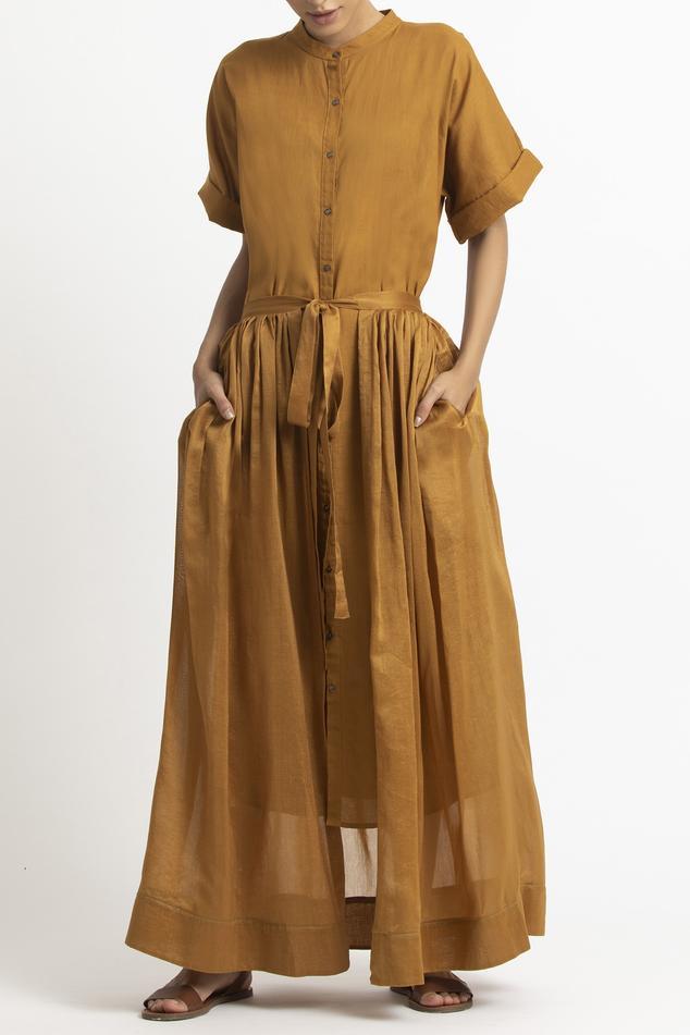Chanderi Wrap Skirt