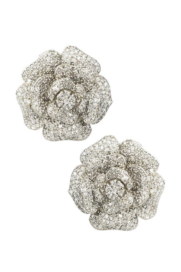 Floral Crystal Studs