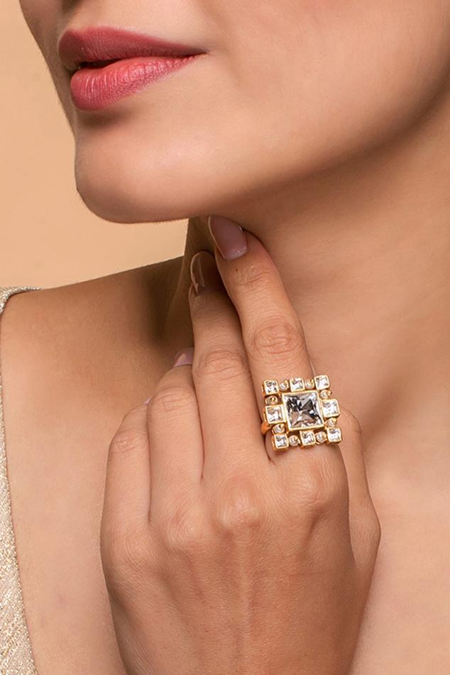 Ashima Leena Crystal Ring