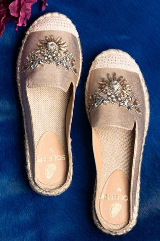 Embellished Loafers