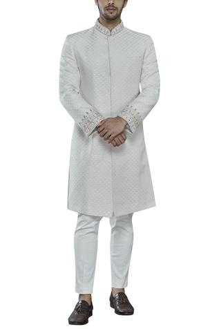 Embroidered Sherwani Set