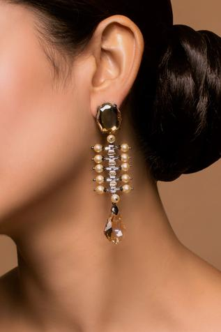 Tarun Tahiliani Crystal Danglers