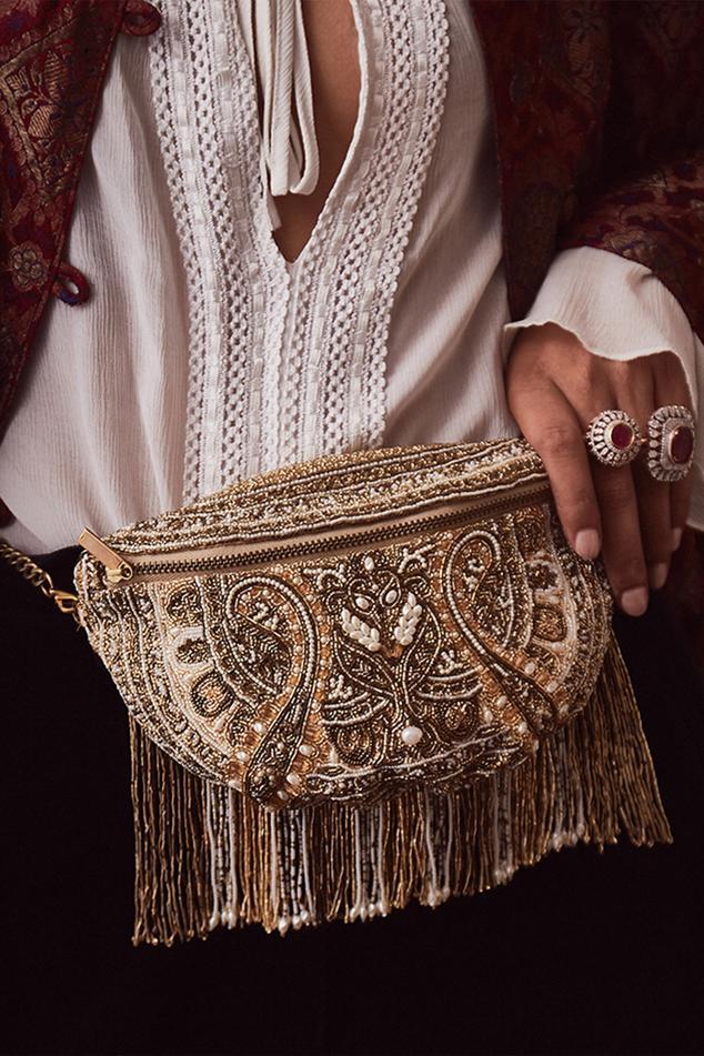 Embellished Fanny Pack