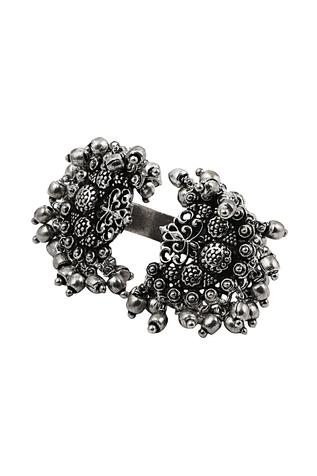 Carved Cuff Ring