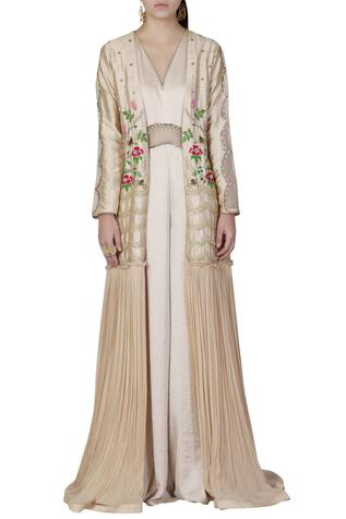 Jumpsuit with Embroidered Jacket