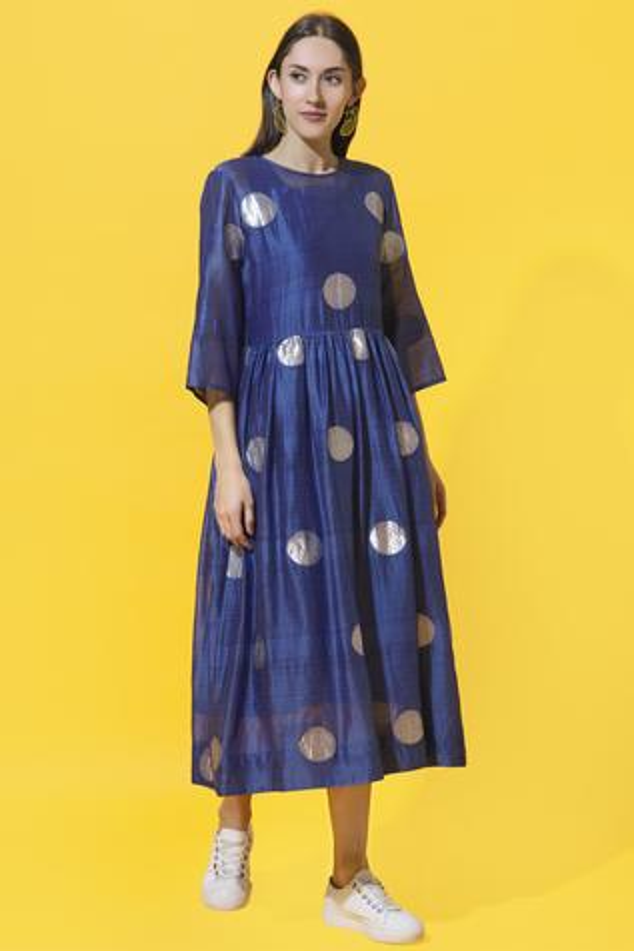 Chanderi Dress
