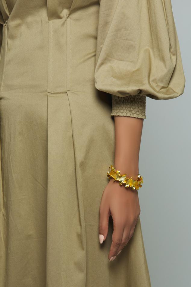 Carved Cuff Bracelet