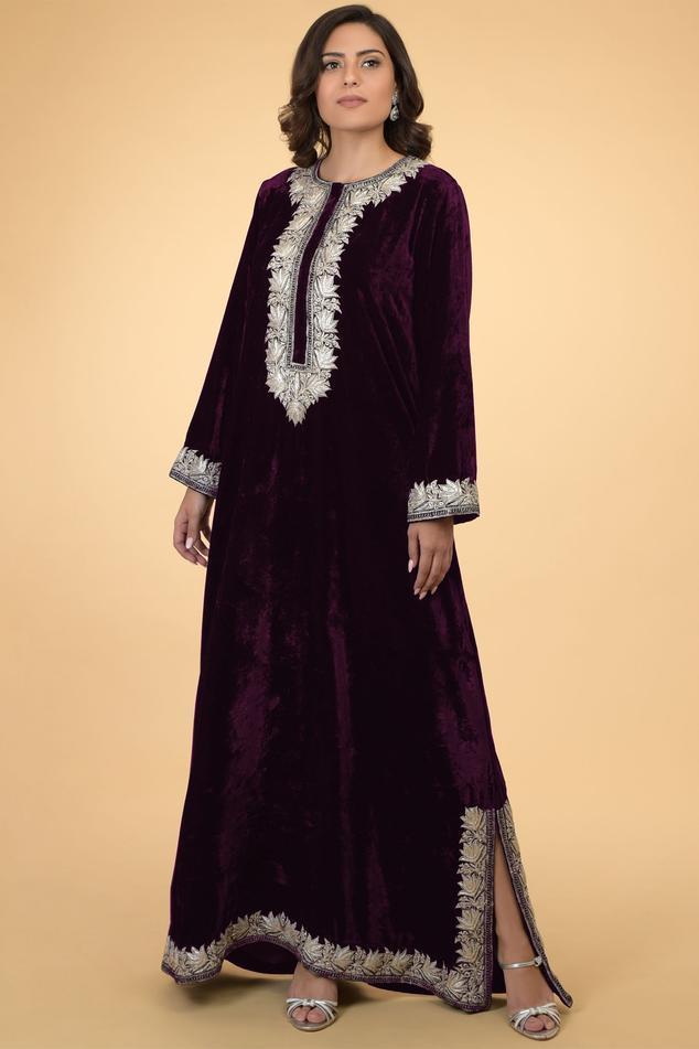 Silk Velvet Kaftan