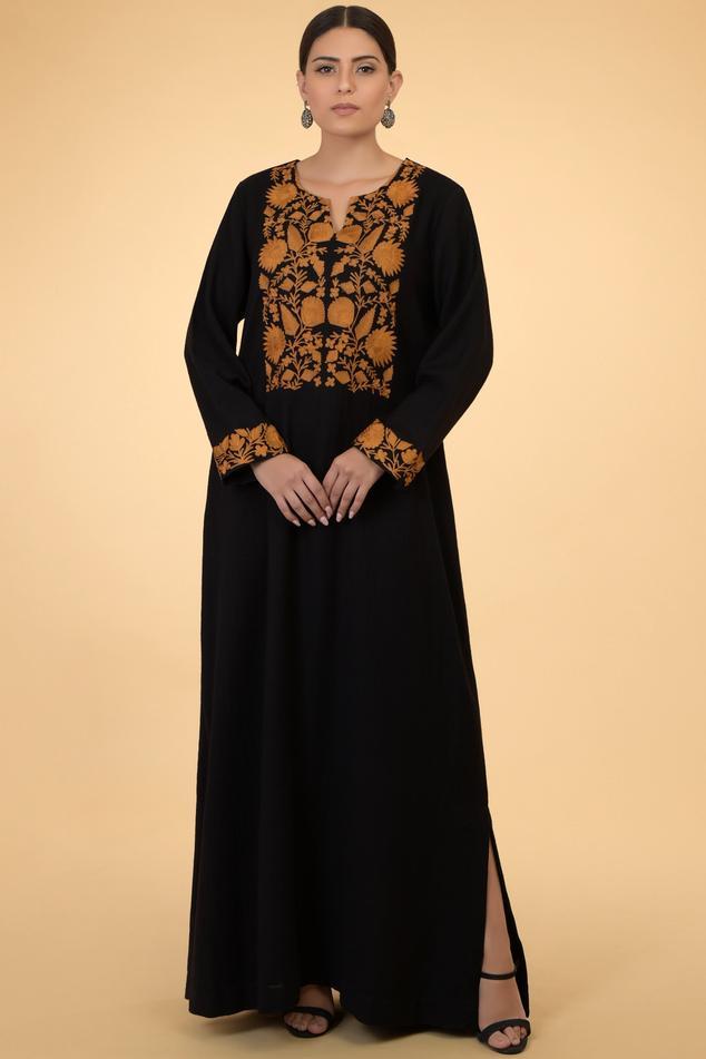 Wool Embroidered Kaftan