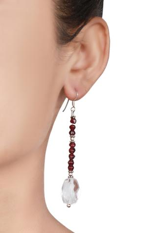 Bead Long Earrings