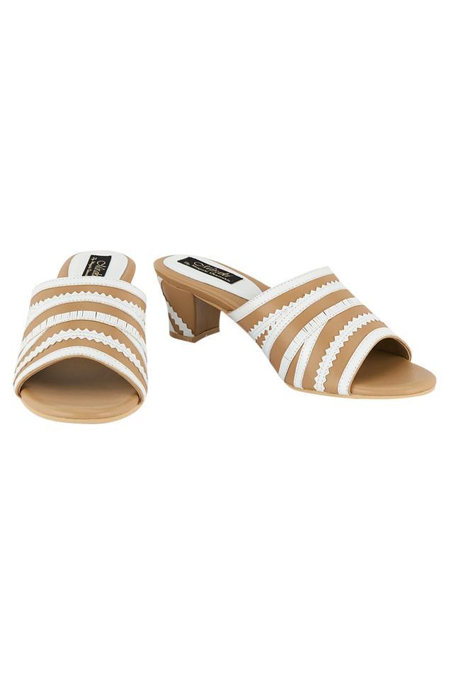 Cutwork Block Heels