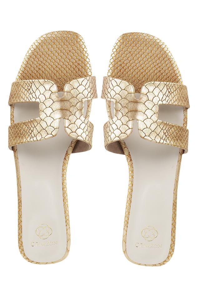 Textured Flat Sandals