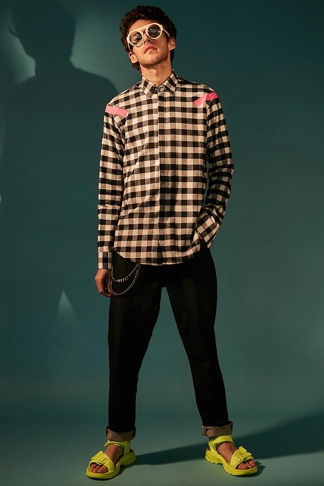 Checkered Print Shirt