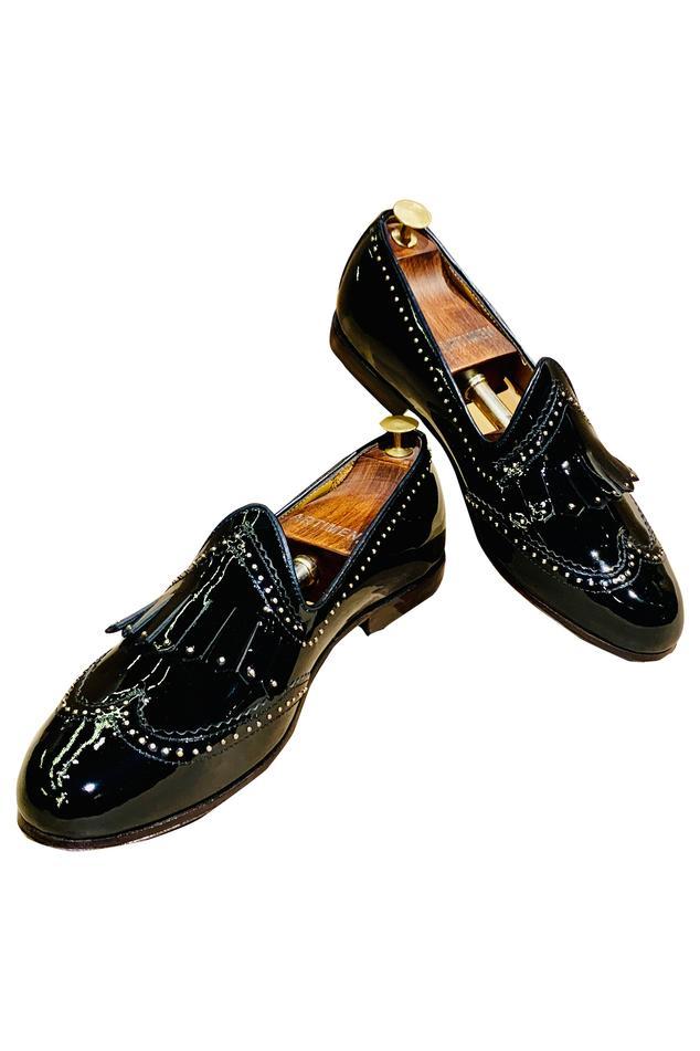Embellished Fringe Loafers