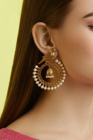 Carved Stone Hoops
