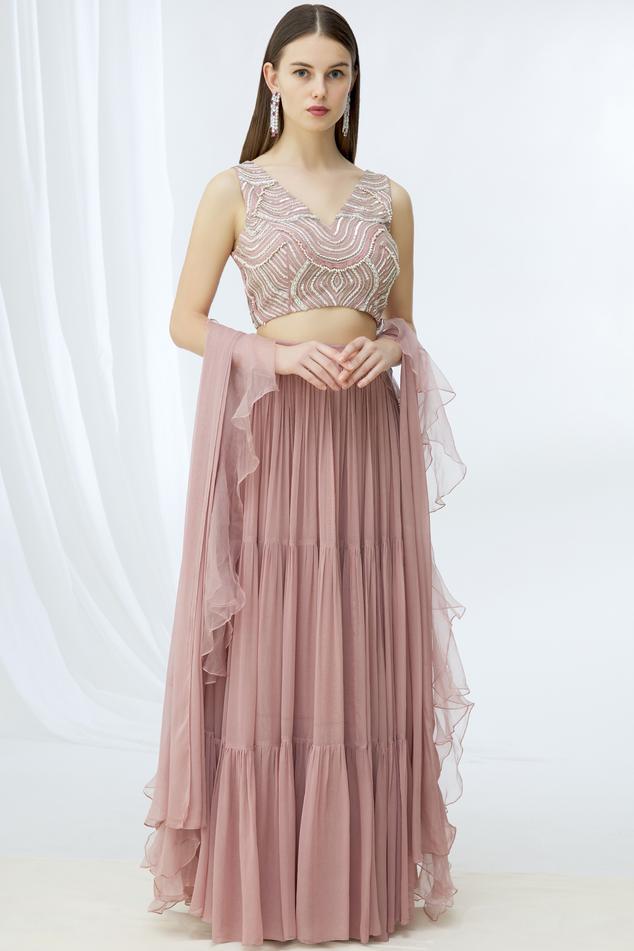 Embellished Lehenga Set