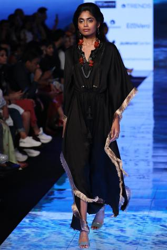 Linen Silk Kaftan