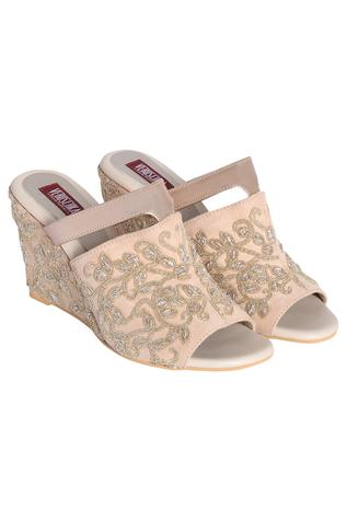 Embroidered Wedges