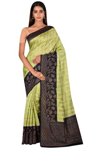 Silk Saree with Running Blouse Fabric