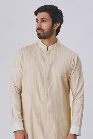 Textured Kurta & Pant Set