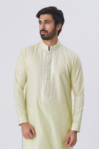 Embellished Kurta & Pant Set