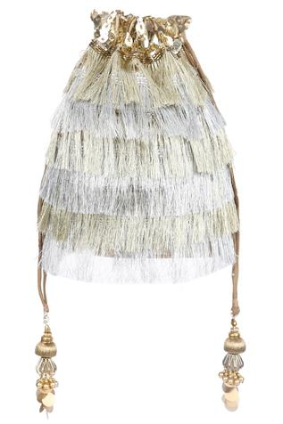 Fringed Potli Bag