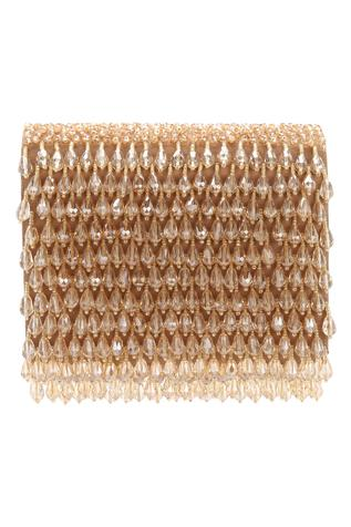 Embellished Flapover Clutch
