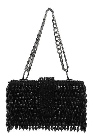 Embellished Flapover Sling Bag