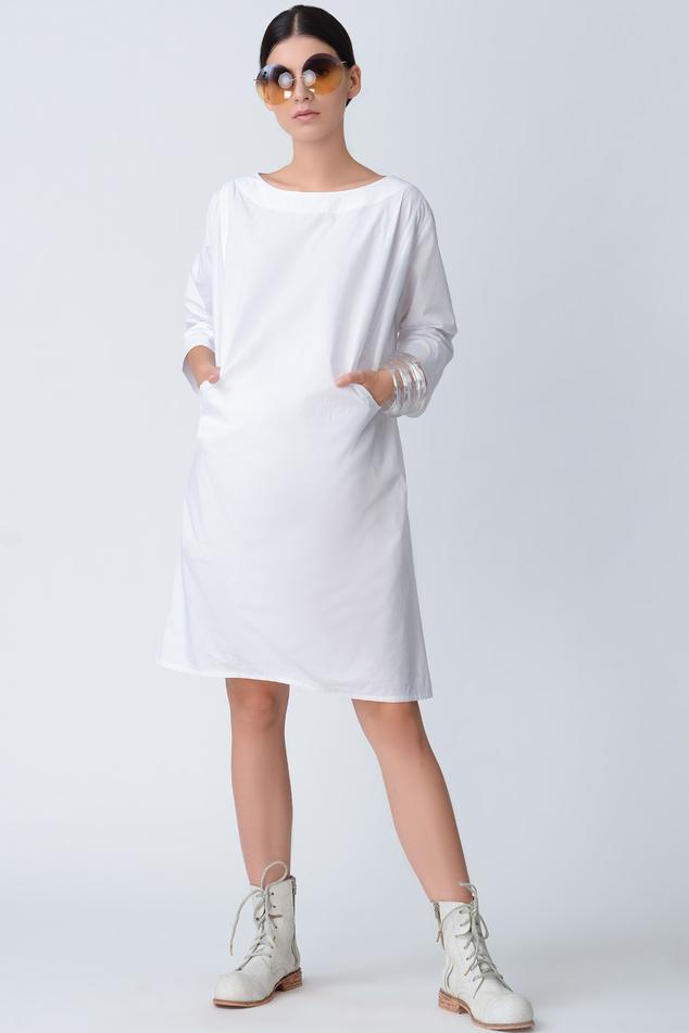 Cotton Shift Dress
