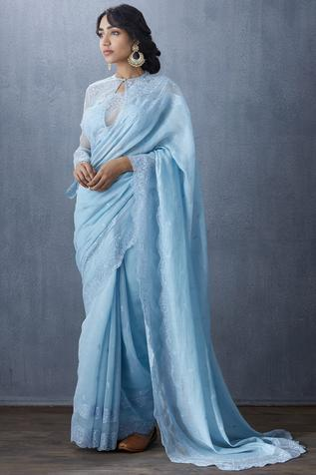 Handwoven Chanderi Saree