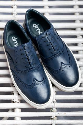 Handcrafted Brogue Sneakers