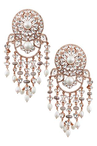 Crystal Danglers Earrings