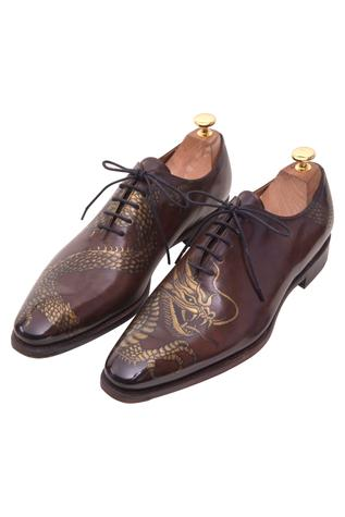 Inked Oxford Shoes