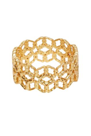 Floral Cutwork Ring