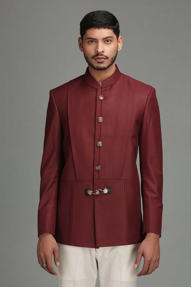 Wool Blend Bandhgala